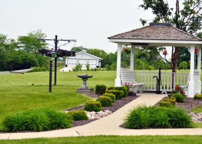 gazebo -the aviary recovery center - st. louis individualized addiction treatment - outpatient treatment near St. Louis Missouri - drug and alcohol rehab - iop