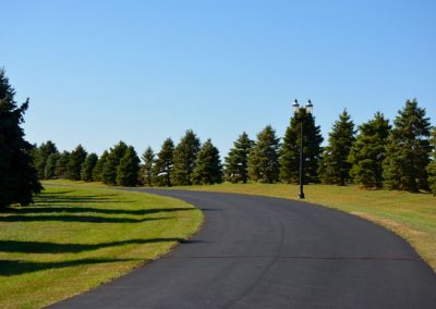 private road leading to The Aviary Recovery Center