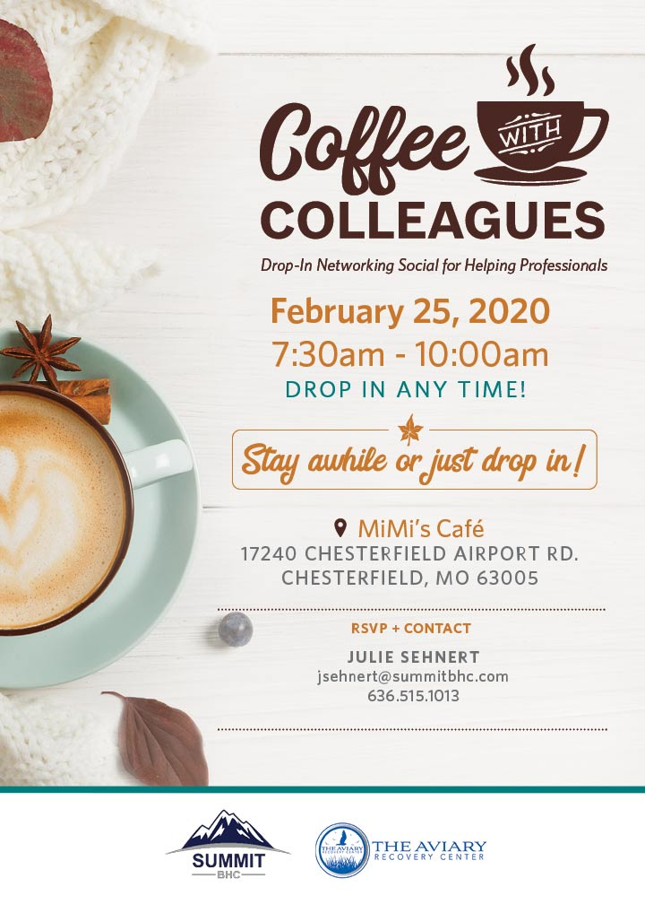 Coffee with Colleagues February 25, 2020